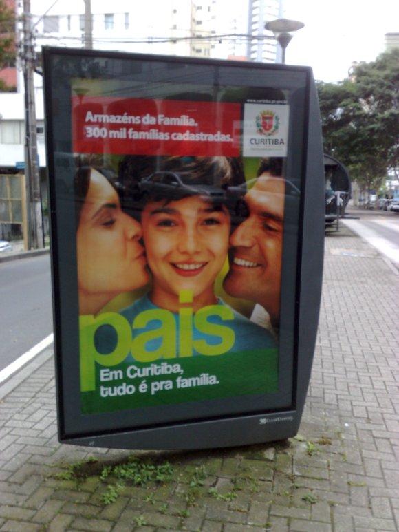 Em Curitiba tudo pra famiglia!