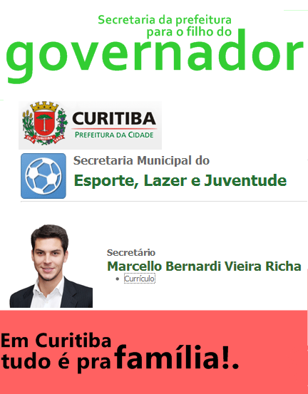 Secretaria do Não Sabemos o que Faz para o Marcelinho.
